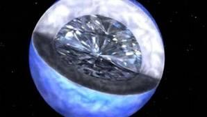 Buscan el origen de la vida en planetas de diamante