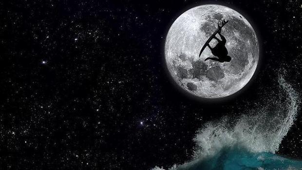 Imagen de archivo de la Luna llena en Tenerife