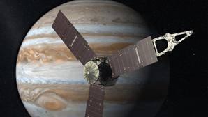 Y la nave Juno conoció a Júpiter