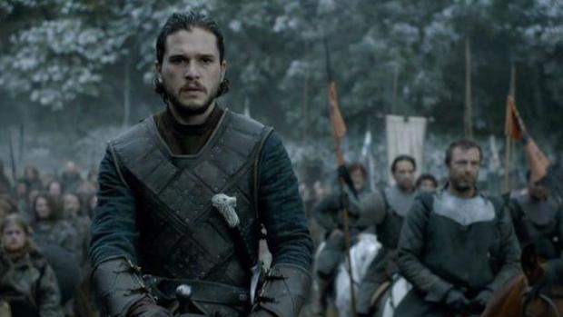 Jon Nieve, antes de la batalla por la toma de Invernalia