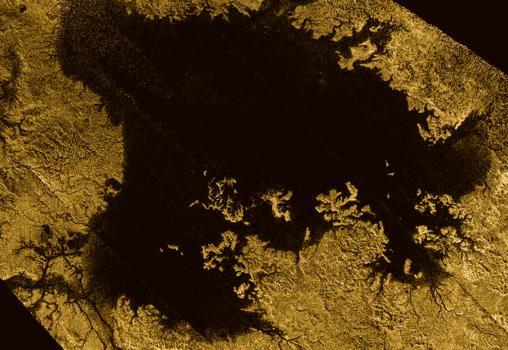 Ligiea Mare, la segunda mayor masa de líquido sobre Titán