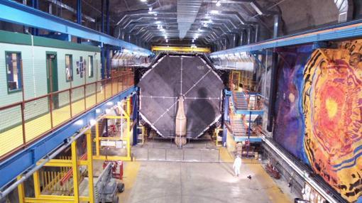 Detector MINOS, usado en los experimentos y localizado en Minnesota