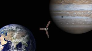 Acompaña a Juno en su viaje al monstruoso planeta Júpiter