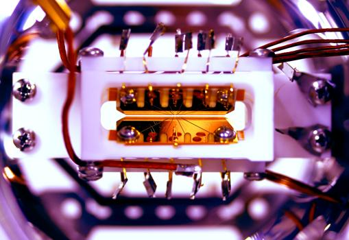 Imagen de la trampa para iones