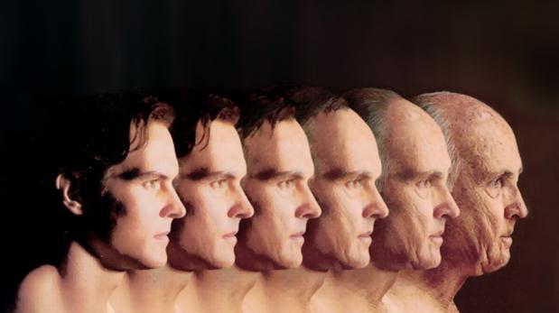 Etapas del envejecimiento de un hombre en fotografías