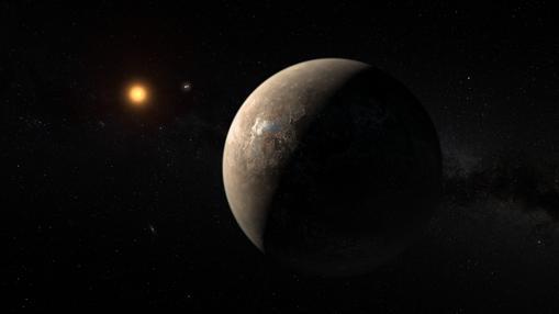 Próxima b se encuentra dentro de la «zona habitable» de su estrella