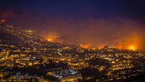 Madeira arde sin control