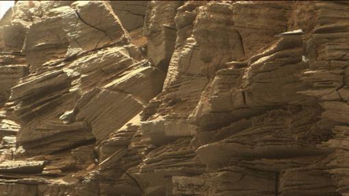 Los montículos son los restos erosionados de una antigua piedra arenisca