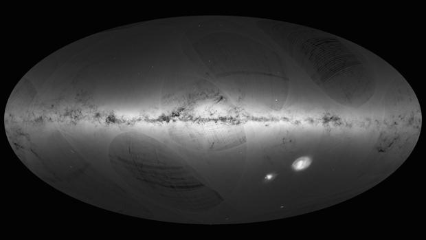 El primer mapa del cielo de Gaia