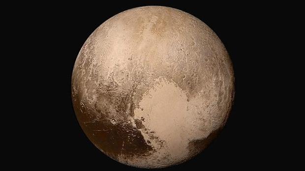 El «corazón» de Plutón, visto por la New Horizons
