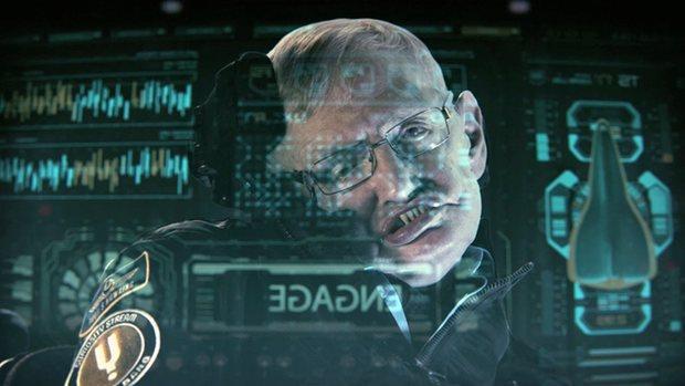 Un fotograma del documental protagonizado por Stephen Hawking
