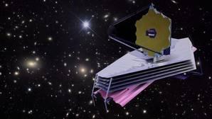 Ilustración del telescopio espacial James Webb