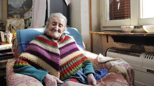 La italiana Emma Morano tiene 116 años y es la persona de mayor edad v iva documentada hasta la fecha