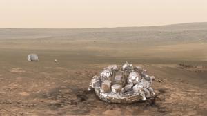 La ESA desconoce si Schiaparelli se ha estrellado en Marte