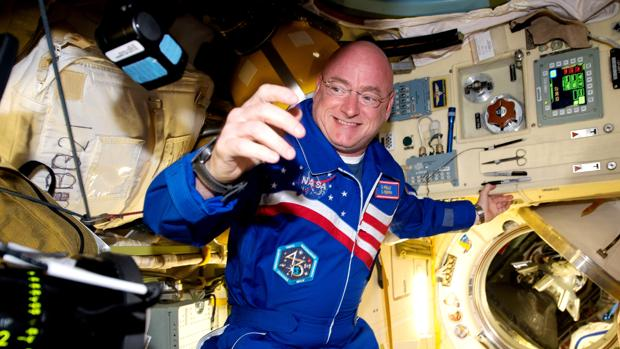 El astronauta Scott Kelly