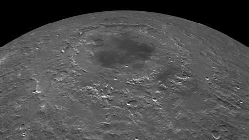 Mar Oriental, formado por el impacto de una roca de más de 60 kilómetros de tamaño hace 3.800 millones de años