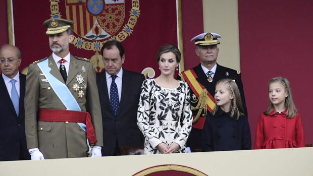 Los Reyes presiden el acto central del Día de la Fiesta Nacional
