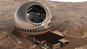 La construcción del telescopio está paralizada judicialmente, porque los indígenes de Maunakea consideran al lugar donde se levantará como una zona sagrada