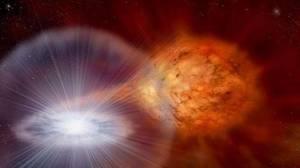Descubren el origen de la mayoría del litio del Universo