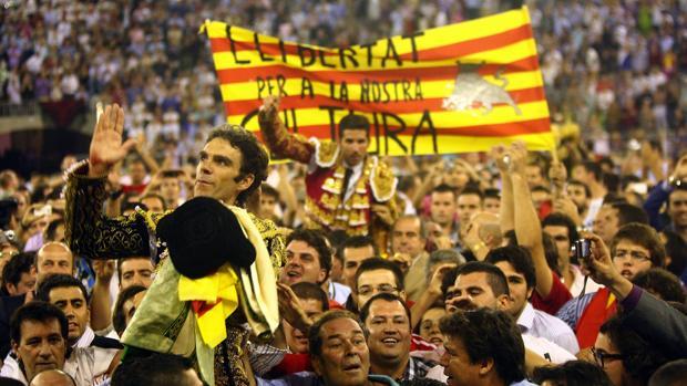 El TC levanta la prohibición de los toros en Cataluña