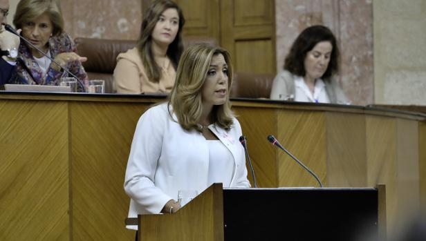 Susana Díaz asume el rol de liderar ya la oposición al Gobierno de Rajoy