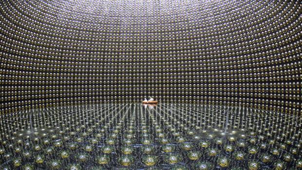 El experimento Super-Kamiokande