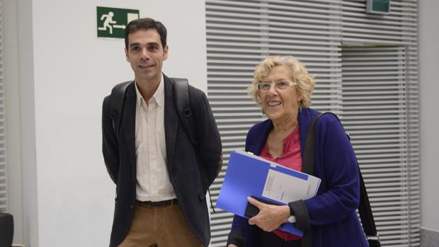 Hemeroteca: Carmena, trasladada a un hospital en mitad de un pleno   Autor del artículo: Finanzas.com