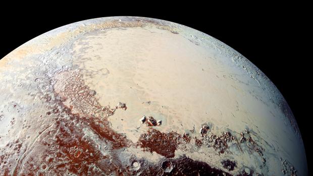 La planicie Sputnik, el ventrículo izquierdo del corazón de Plutón