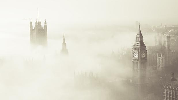 Una niebla cubrió Londres en diciembre de 1952 y mató a más de 12.000 personas