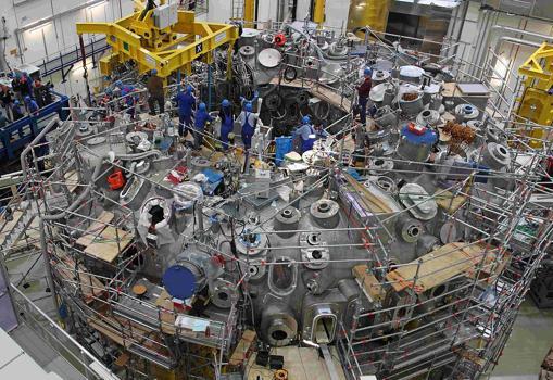 Trabajos junto al reactor W7-X