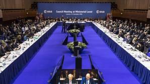 Reunión del consejo ministerial de la Agencia Espacial Europea (ESA) celebrada en Lucerna, (Suiza), el pasado 1 de diciembre