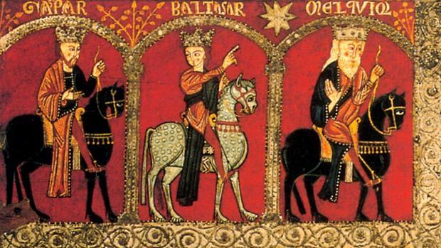 Imagen del frontal de altar de Mosoll, de mediados del s. XIIII