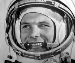 Yuri Gagarin, el primer hombre en llegar al espacio