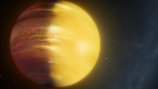 El planeta donde las nubes son de rubíes y zafiros