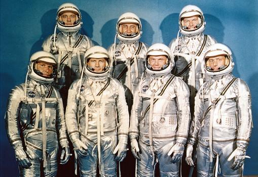 «Los Siete», los primeros astronautas de la NASA