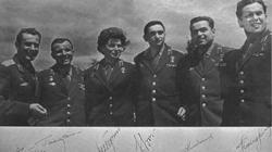 Los seis primeros cosmonautas