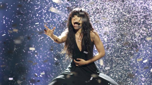 Loreen canta «Euphoria» tras su triunfo en el festival de Eurovisión de 2012