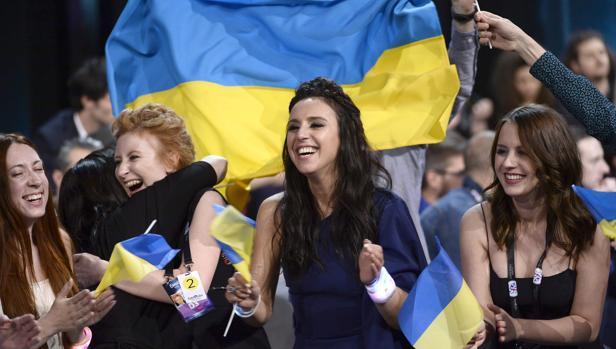 La ucraniana Jamala, tras su victoria en el festival de Eurovisión 2016