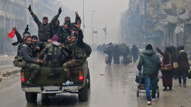 ABC, testigo privilegiado de la caída de Alepo