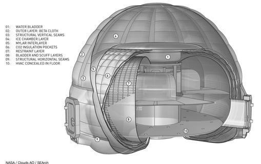 El «iglú» con el que la NASA cree que se puede vivir en Marte