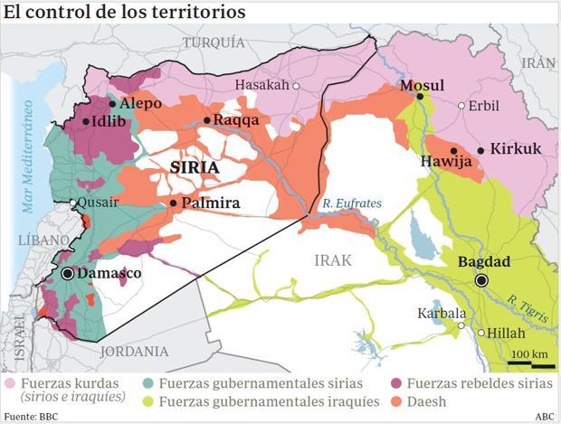 Los otros grandes frentes abiertos tras la caída de Alepo
