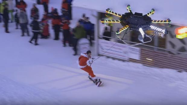 Youtube:  El excéntrico youtuber que ha conseguido volar con un dron