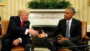 Obama y Trump tomarán un café juntos poco antes de la investidura