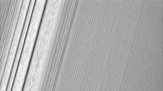 Los anillos de Saturno, vistos con un detalle sin precedentes