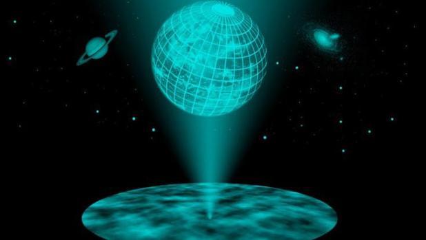 El Universo no es un holograma, pero algunos físicos teóricos juegan con las dimensiones para tratar de resolver los difíciles problemas de la gravedad a pequeña escala, los agujeros negros y el Big Bang