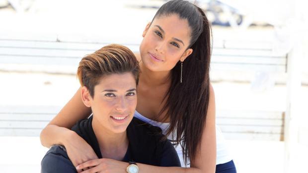 Patricia Yurena y LeKlein, en junio de 2015 cuando eran una feliz pareja