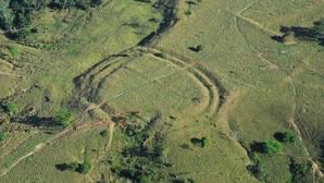 Geoglifo en el estado de Acre, en Brasil