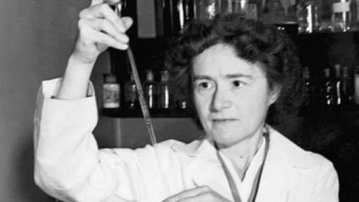 Gerty Theresa Cori hizo contribuciones muy importantes en bioquímica