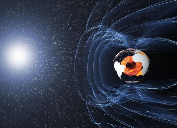Resultado de imagen de El cambio en el magnetismo de la Tierra