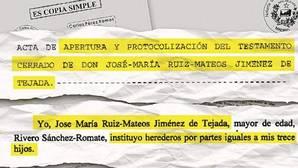 Los Ruiz-Mateos ocultan la herencia de su padre para evitar su reparto